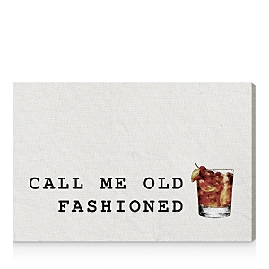 Oliver Gal Mr Old Fashioned Canvas Art, 45 x 30
