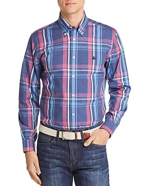 Brooks Brothers Regent Non-Iron Plaid Slim Fit Button-Down Shirt