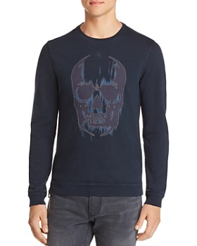 John Varvatos Star USA - Long-Sleeve Skull Graphic Tee - 100% Exclusive