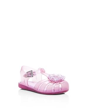 Mini Melissa Girls' Mini Aranha Xii Jelly T-Strap Sandals - Walker, Toddler
