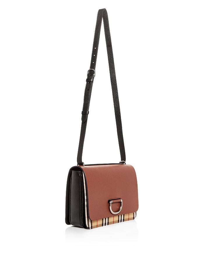 2d371098fa78 Burberry - Medium Vintage Check   Leather D-Ring Bag