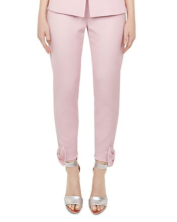 70e7732147cc0 Ted Baker - Toplyt Bow-Detail Cropped Pants