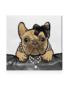Oliver Gal - Glam Frenchie Wall Art