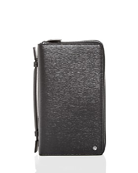 Montblanc - Westside Travel Companion Embossed Leather Organizer