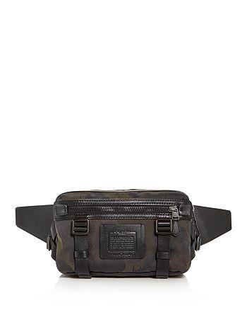 25d83217fe COACH - Camo Print Utility Pack Large Belt Bag