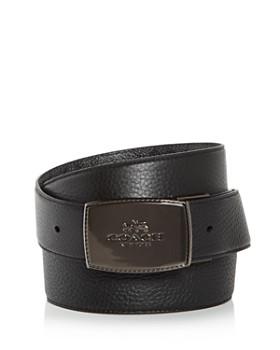 COACH - Plaque Buckle Signature Reversible Belt