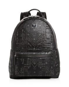 MCM - Stark Gunta Medium Studded Backpack