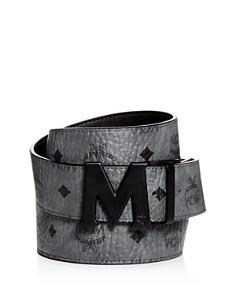 MCM - Claus Matte Logo Buckle Reversible Belt