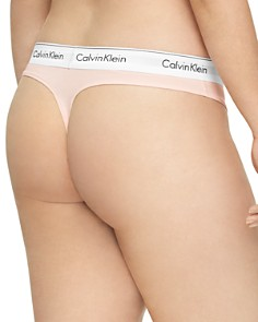 Calvin Klein - Plus Modern Cotton Thong