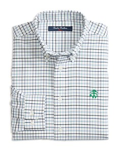 Brooks Brothers - Boys' Non-Iron Oxford Check Shirt - Little Kid, Big Kid