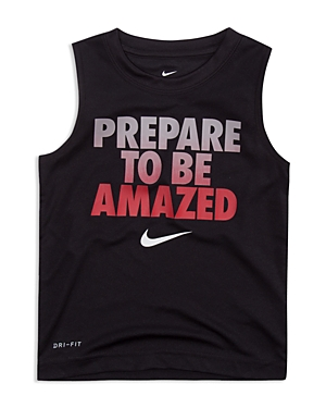 Nike Boys Prepare to Be Amazed Tank  Little Kid