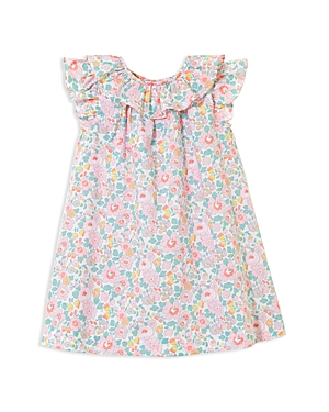 Jacadi Girls Floral Ruffled Dress  Baby