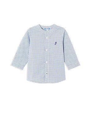 Jacadi Boys GridPrint ButtonDown Shirt  Baby