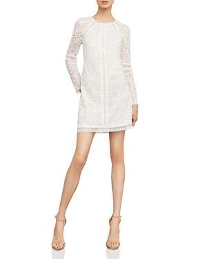 MOSAIC LACE SHIFT DRESS