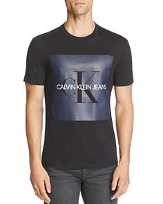 Calvin Klein Logo Reissue Slub-Knit Graphic Tee - Bloomingdale's_0