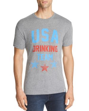 KID DANGEROUS USA DRINKING TEAM GRAPHIC TEE