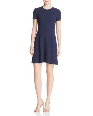 Modern Seamed Fit-and-flare Dress