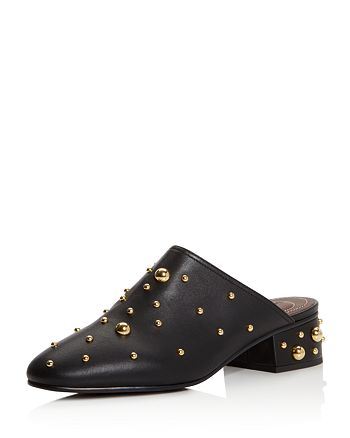 195745d38775b See by Chloé Women's Studded Leather Mules | Bloomingdale's