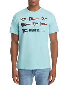 Barbour Pennant Logo Graphic Tee - Bloomingdale's_0