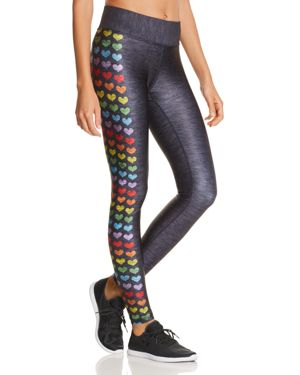 TEREZ Love Is Love Printed Tall Band Leggings