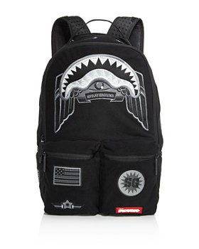 Sprayground - Ghost Shark Patch Backpack