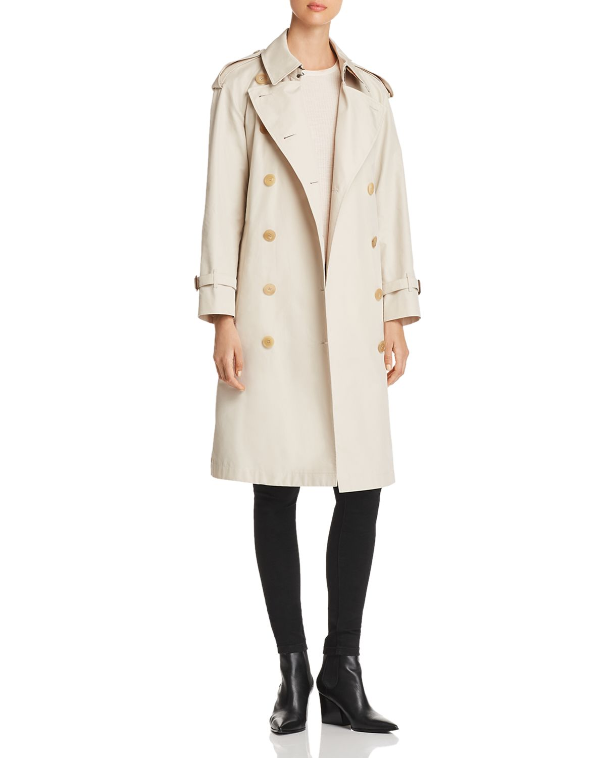 Trecastle Stripe Trench Coat by Burberry
