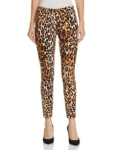 7 For All Mankind - Ankle Skinny Jeans in Chestnut Cheetah