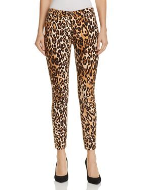 7 For All Mankind Ankle Skinny Jeans in Chestnut Cheetah 3034877