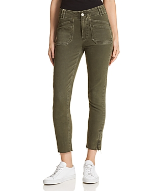 Paige Utilitarian Hoxton Ankle Tapered Jeans in Vintage Forest Night thumbnail