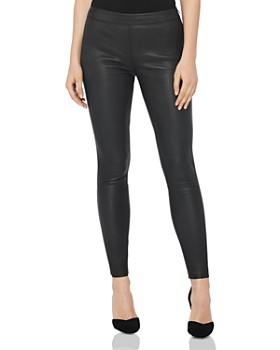REISS - Goldie Leather Leggings
