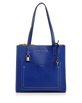 MARC JACOBS - Medium Grind T-Pocket Leather Tote