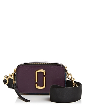 Marc Jacobs Snapshot Saffiano-Leather Crossbody