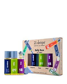 21 Drops - Daily Dose Essential Oil Trio Gift Set