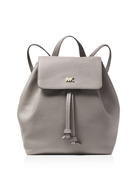 MICHAEL Michael Kors - Junie Medium Leather Flap Backpack