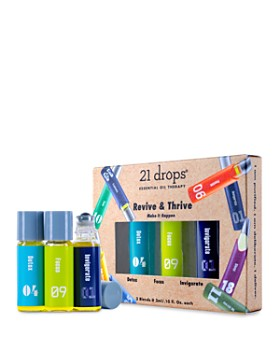 21 Drops - Revive & Thrive Essential Oil Trio Gift Set