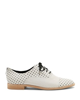 Dolce Vita - Women's Polo Polka Dot Leather Oxfords
