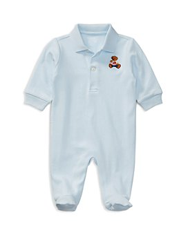 Ralph Lauren - Boys' Polo Bear Cotton Coverall - Baby