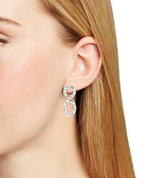 Bloomingdale's - Wavy Double Loop Drop Earrings - 100% Exclusive