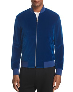 Paul Smith - Casual Velvet Bomber Jacket