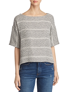 Eileen Fisher Relaxed Graphic-Print Sweater