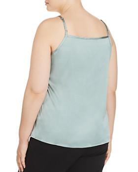 Eileen Fisher Plus - Silk Scoop-Neck Camisole Top