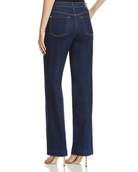 7 For All Mankind -  Alexa Wide Leg Jeans in Avant Rinse