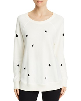 n PHILANTHROPY - Montreal Star Embroidered Sweatshirt