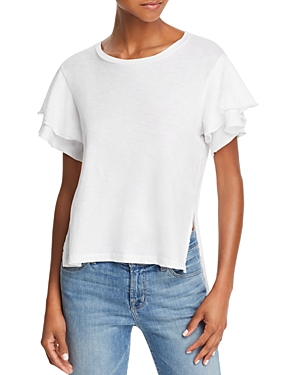 Lna Recess Slit High/Low Tee
