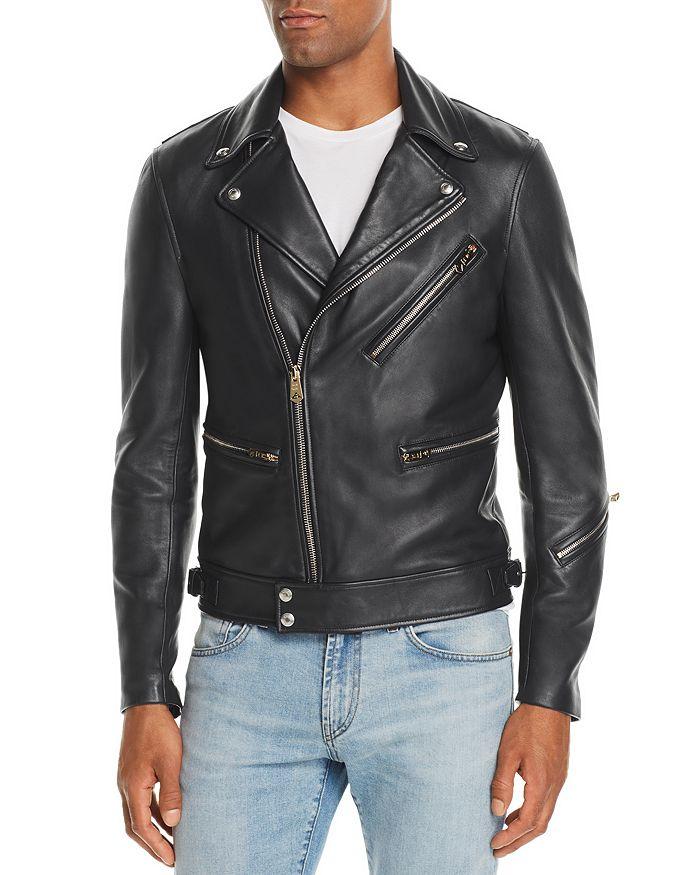 332e3a9b18dd Paul Smith - Leather Biker Jacket