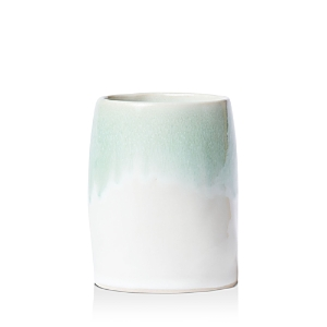 Vietri Bath Essentials Aqua Round Vase