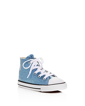 Converse - Girls' Chuck Taylor All Star Glitter High Top Sneakers - Baby, Walker, Toddler