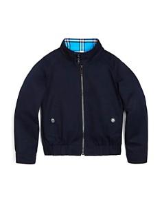 Burberry - Boys' Harrington Reversible Jacket - Little Kid, Big Kid