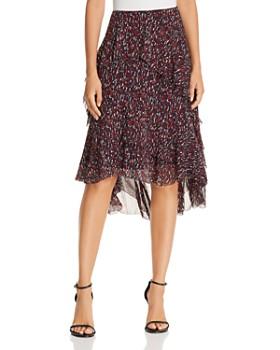 Joie - Brigida Printed Silk Skirt