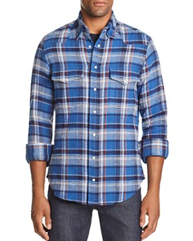 Gitman Vintage - Plaid Heavy Flannel Regular Fit Shirt